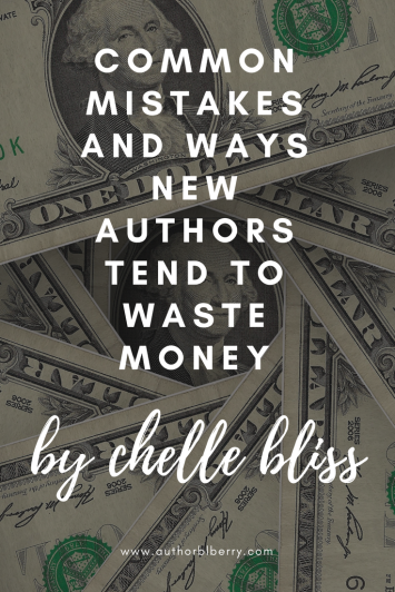 common mistakes and ways new authors tend to waste money