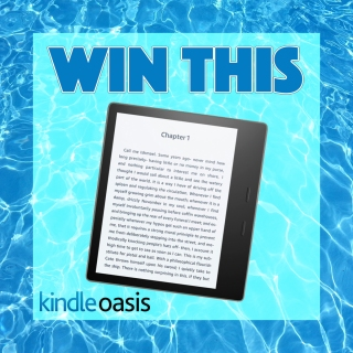 Follow me on BookBub for your chance to win a Kindle Oasis!