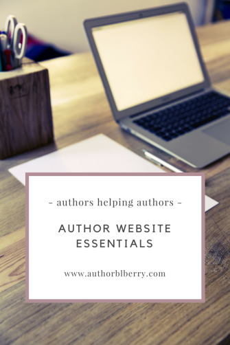 Author website essentials